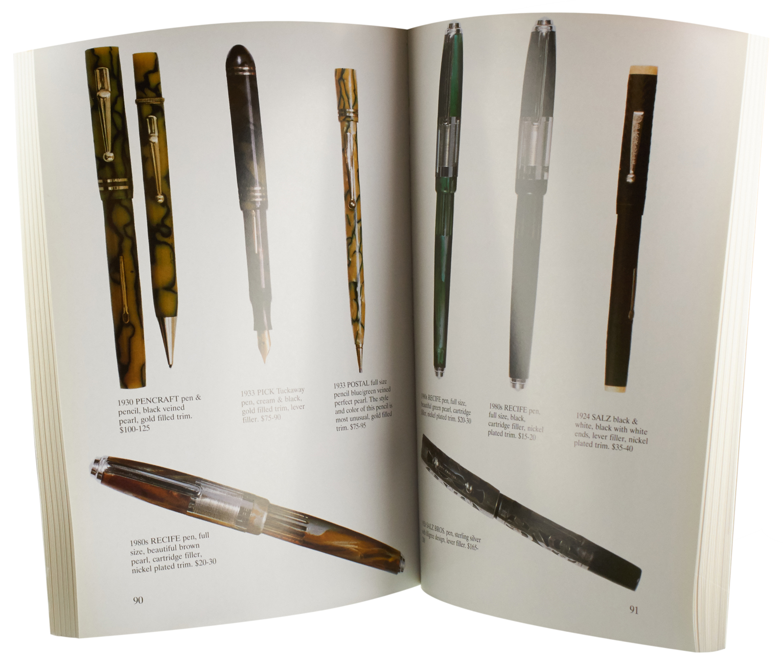Antique Writing Instruments Classic Fountain Pens