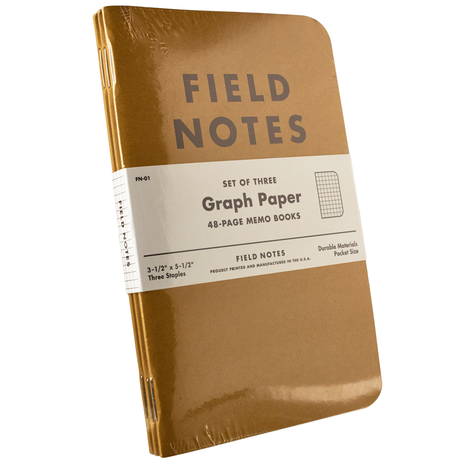Field Notes Graph Paper Memo Books 3Pack – Field Note