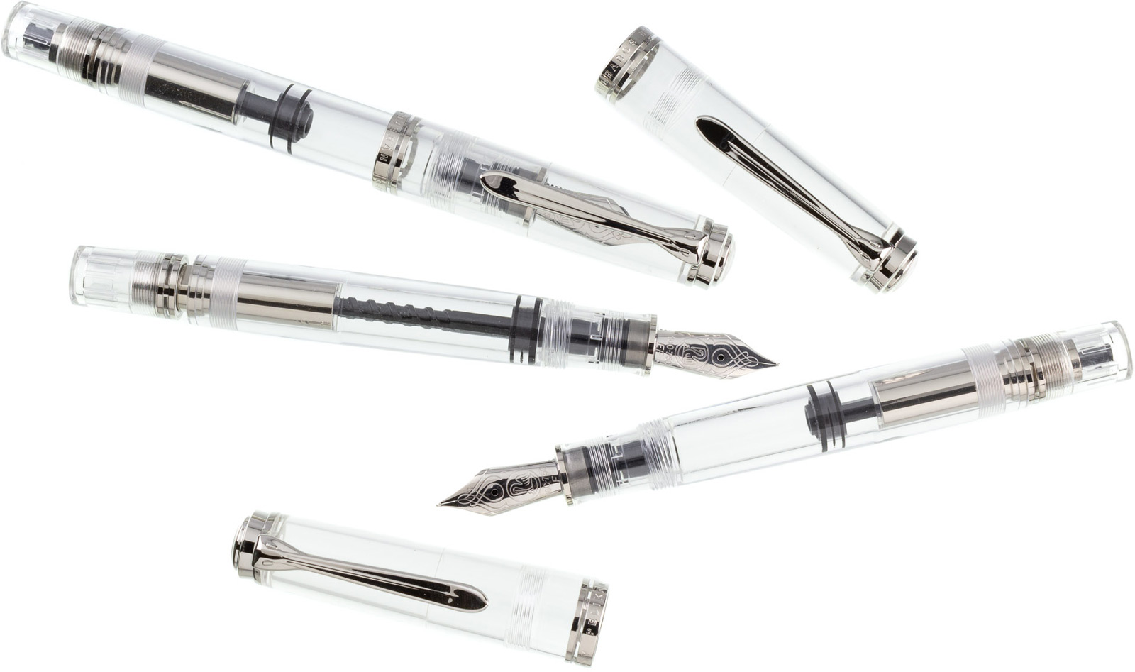 Pelikan M805 Demonstrator Fountain Pens