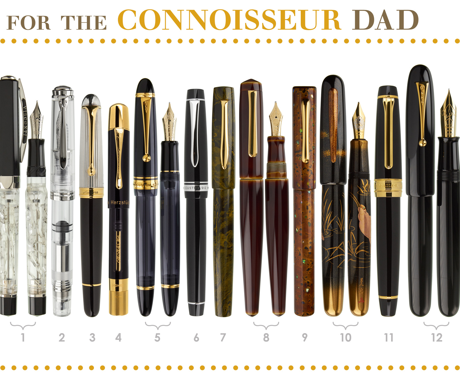 Pen Collection 3: For the Connoisseur Dad