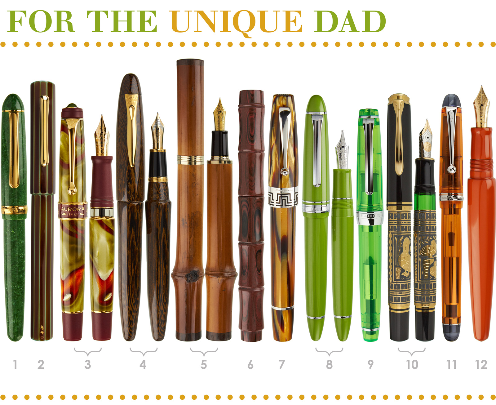 Pen Collection 4: For the Unique Dad