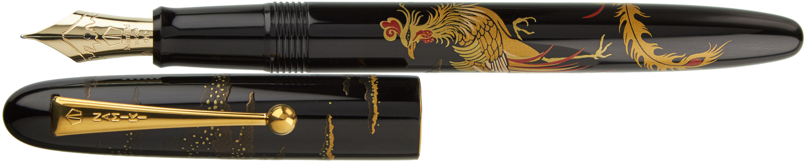 Namiki Nippon Art Chinese Phoenix Classic Fountain Pens